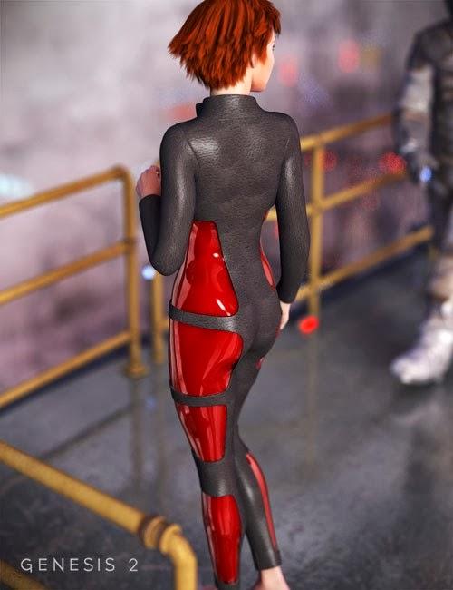 SciFi Body pour Genesis 2 Femme