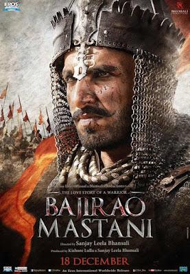 Poster of Bajirao Mastani