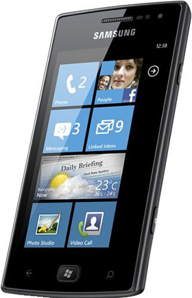 Samsung GT-I8350, Windows Phone 7.5