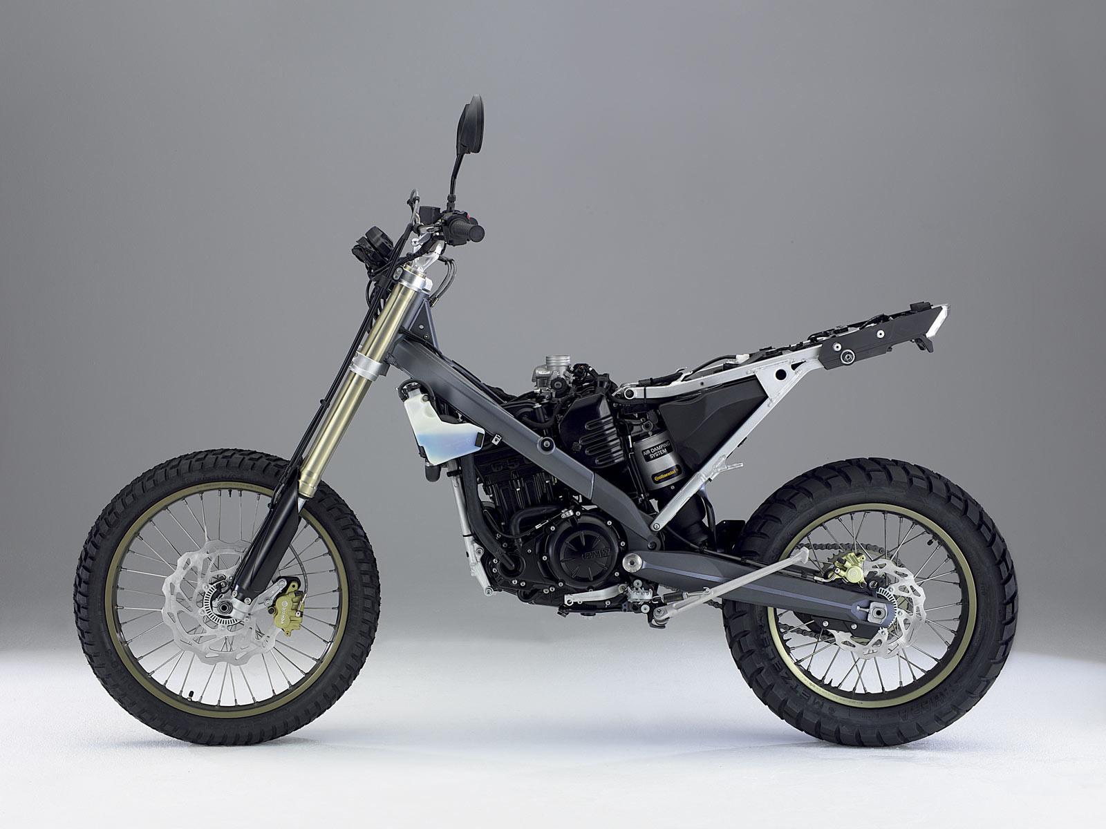 2007 Bmw G650x Challenge Motorcycle Desktop Wallpaper