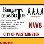 BODEGUITA DE LOS BEATLES!