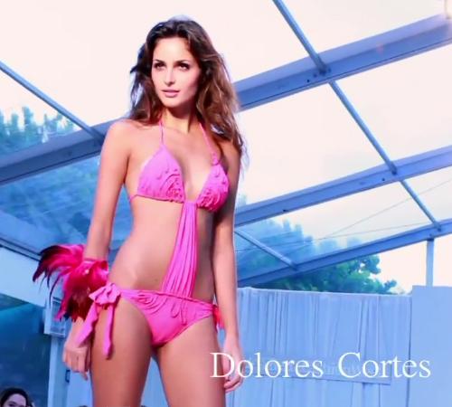 Pink monokini - Dolores Cortes 2012 fürdőruha kollekcióből
