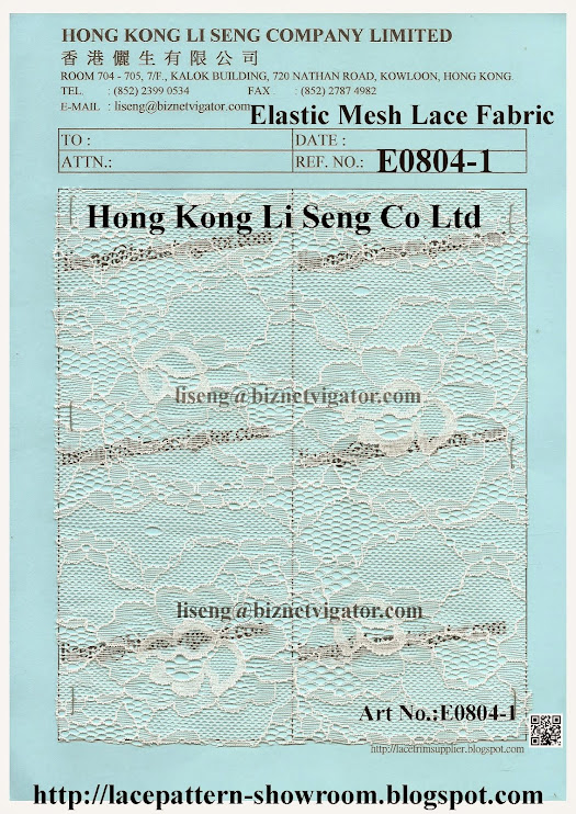 Elastic Mesh Lace Fabric Factory - Hong Kong Li Seng Co Ltd