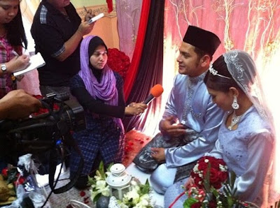 Gambar Majlis Pertunangan Danny X-Factor Dan Saidatul Fazlin Zakaria
