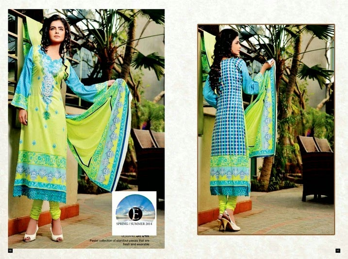 Eiza Lawn Collection 2014 Volume-1