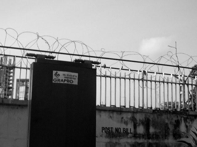 CA -post no bill- LAGOS / NIGERIA