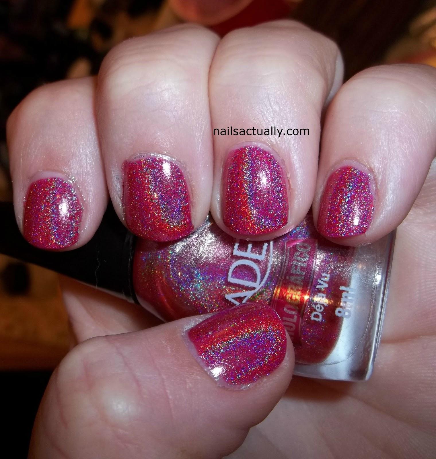 Nails Actually: Jade Deja Vu