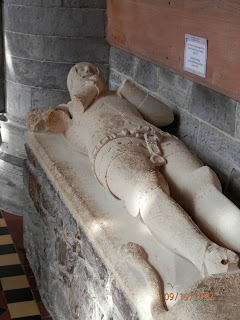 Lord Rhys effigy at St Davids Copyright 2012 Kaliani Devinne