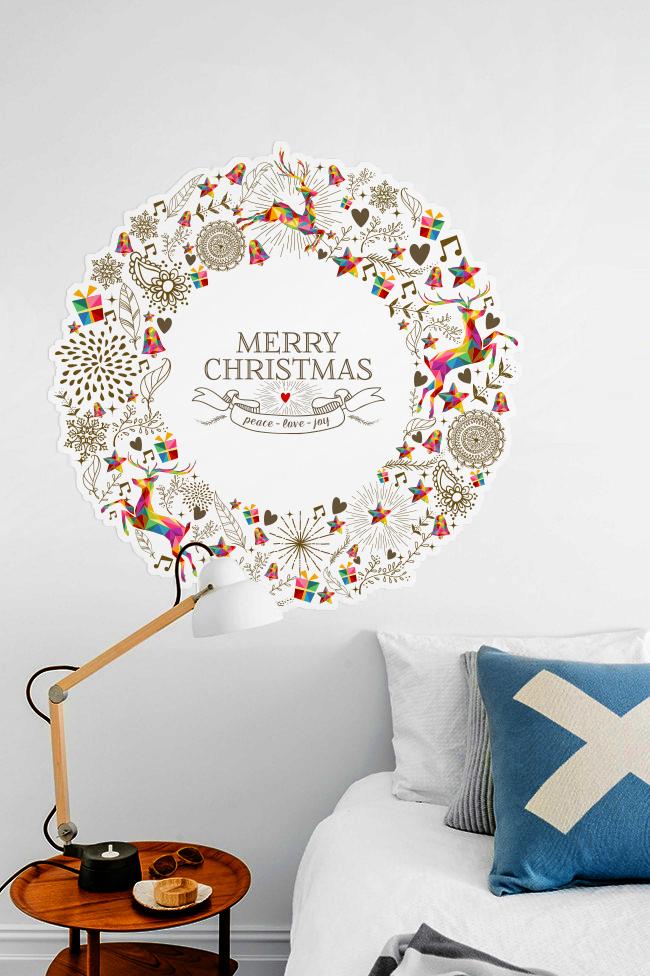 http://pixers.pl/naklejki/vintage-christmas-karty-z-pozdrowieniami-wieniec-72942895