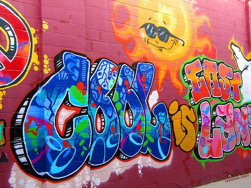 Cool graffiti best graffitianz for Phrases murales