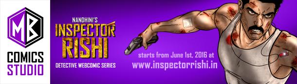 Inspector Rishi - Detective Webcomics