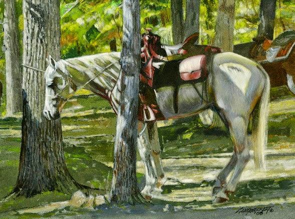 caballo-pintura-arte-oleo-imagenes