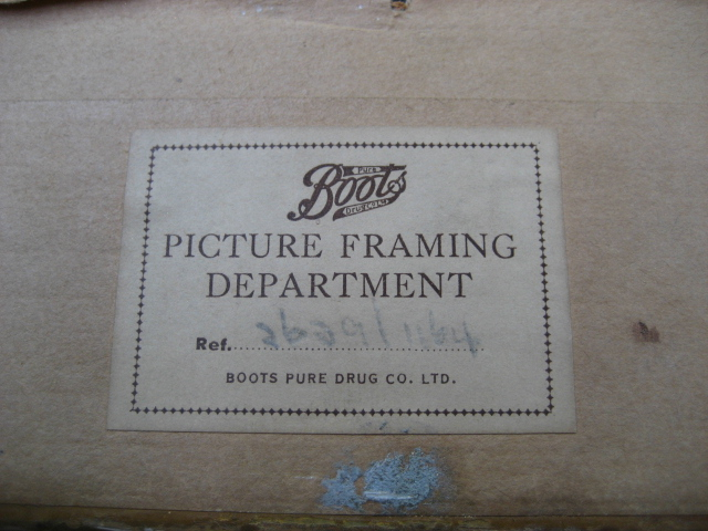 Picture Frame Labels Boots