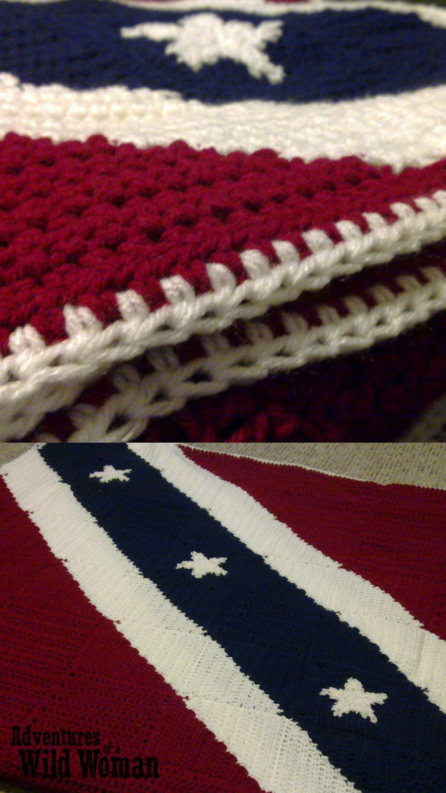 Crochet Patterns Rebel Flag : am really proud of this blanket. Ive only successfully made three ...