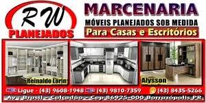 RW PLANEJADOS - MARCENARIA