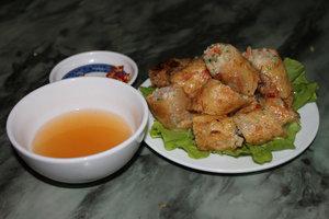 Squid spring rolls (Nem mực) - Cát Bà island