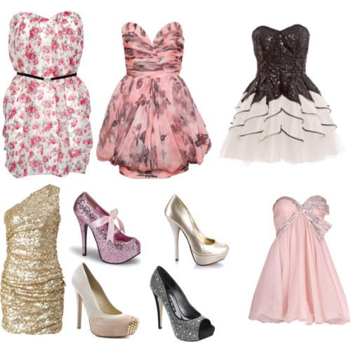 cute dresses fancy pink