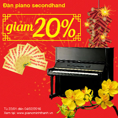 khuyen mai dan piano cu secondhand
