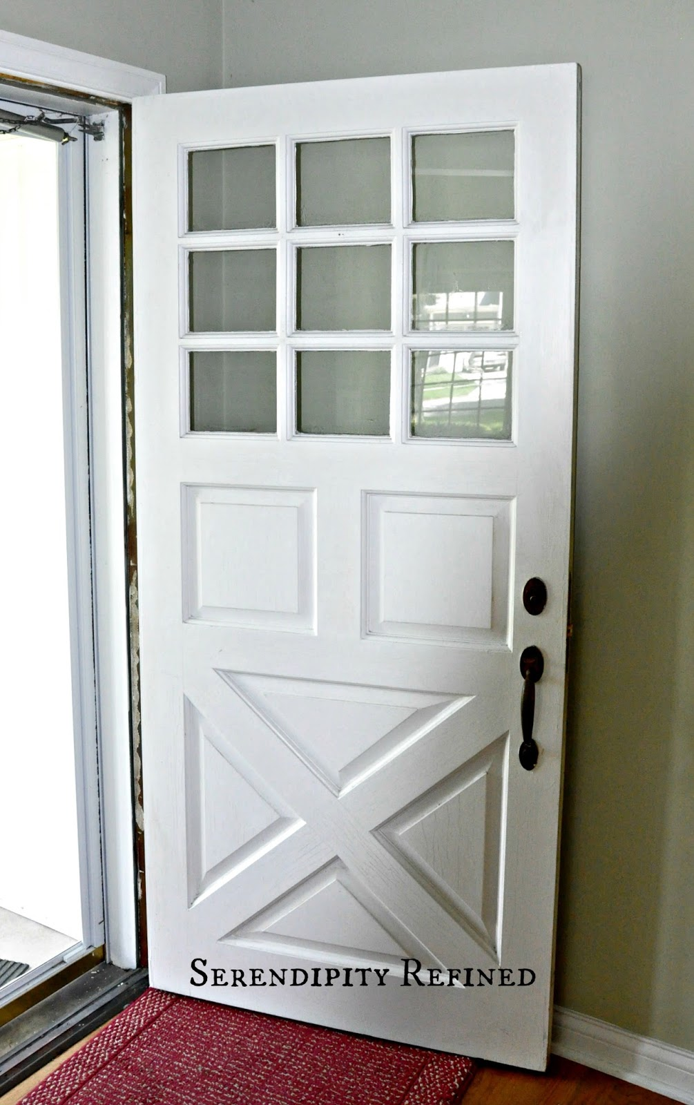 Serendipity refined blog turquoise painted wood exterior for Exterior entry doors