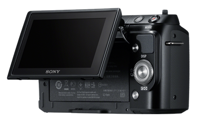 sony nex-f3 black rear lcd tilt