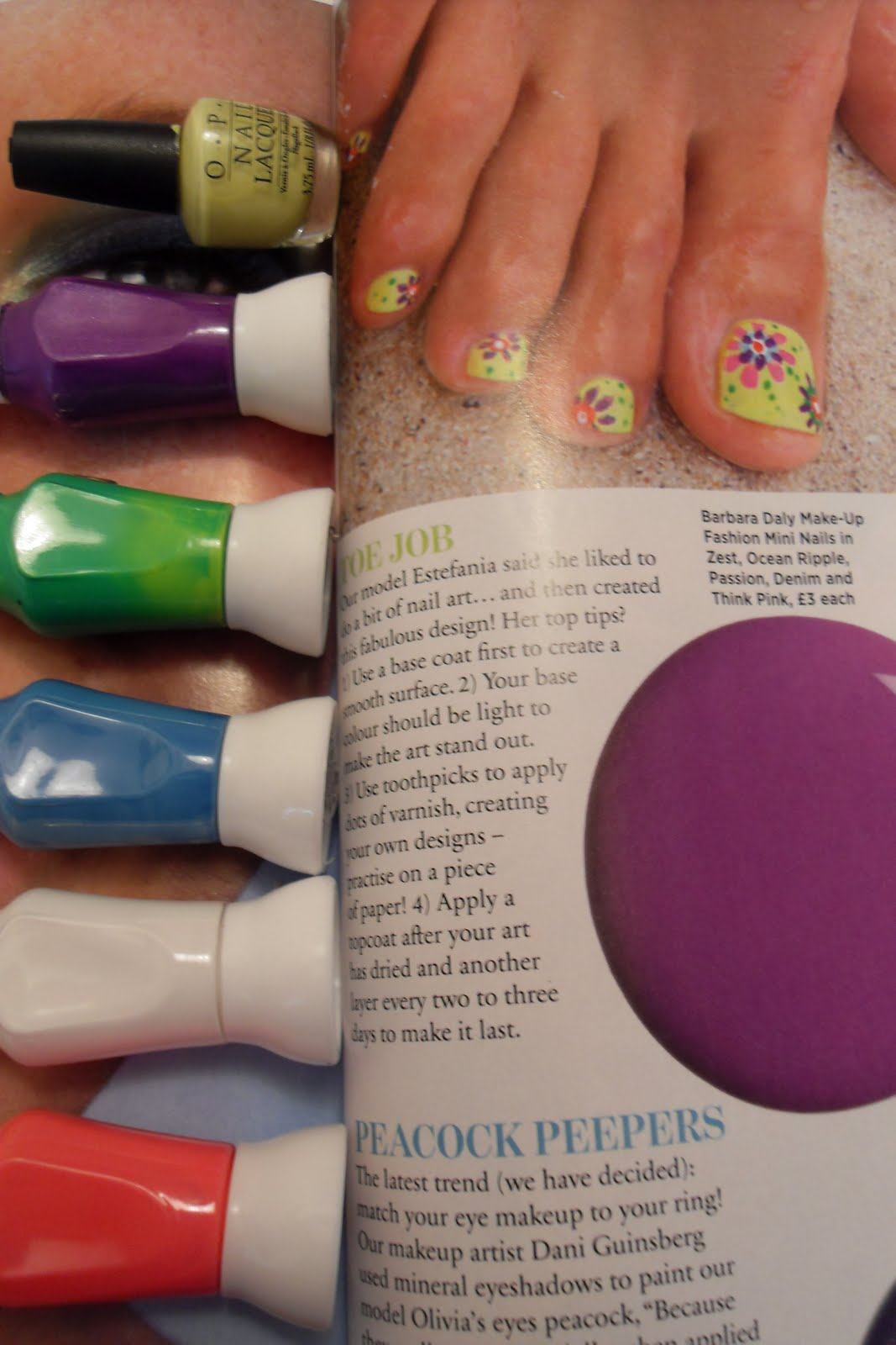 Oooooh Pretty: Summer Nails