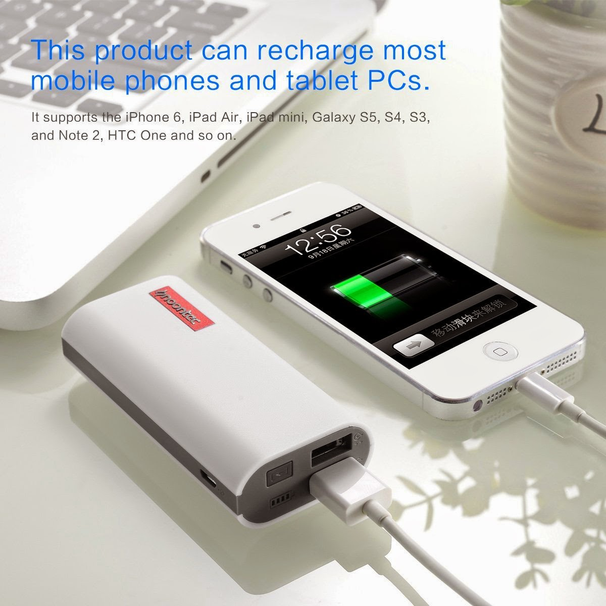 5200mAh power bank on promo, 50% off, coupon code: 9LO9Q7YI