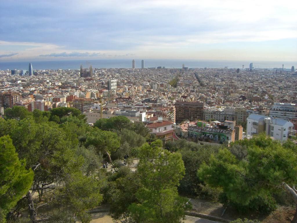 Barcelona from Park Güell