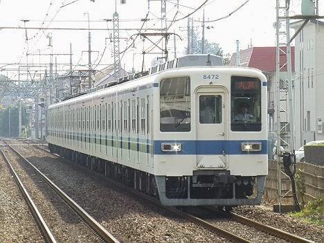 東武野田線 大宮行き 8000系
