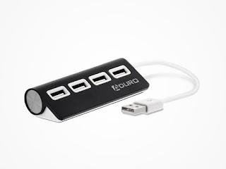 Aduro 4-Port USB Mac Hub