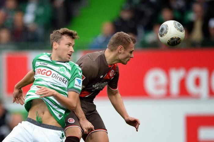 Imagens e melhores momentos da partida entre o Greuther Fürth e o St. Pauli