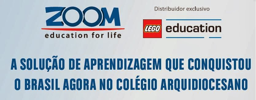 Aqui tem Lego Zoom!