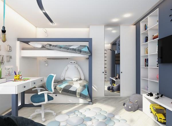 4 mẫu phòng ngủ đẹp cho trẻ em tại dự án Central Point Mỹ Đình 9