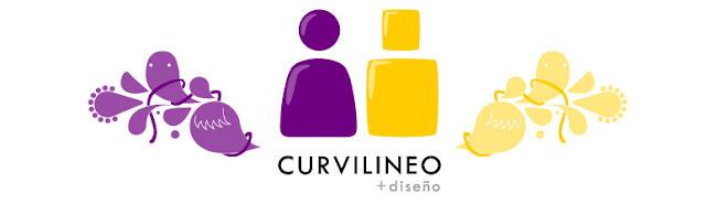 Curvilineo, diseño e Ilustración.
