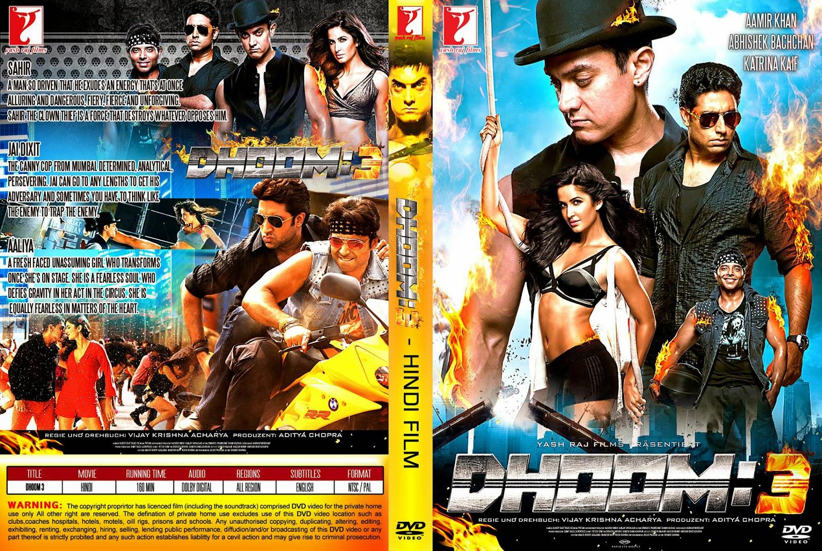 dhoom 3 (2013) hindi movie dvdrip 700mb download - hitsong4all