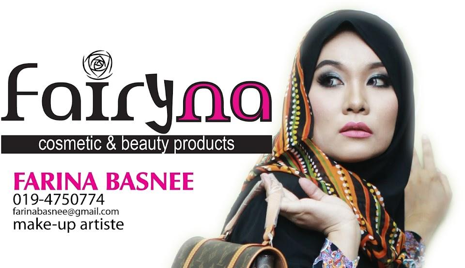 FarinaBasnee; Make Up Artis / Pengasas Fairymasha
