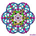 Color_Kaleidoscope_2013 Arts designing patterns.