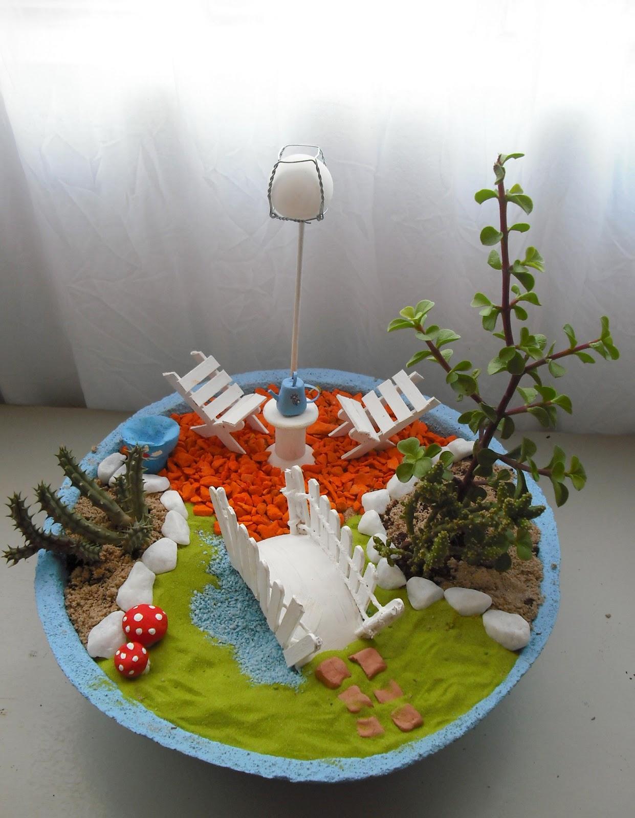 artesanato mini jardim:CASA'ART: MINI JARDINS