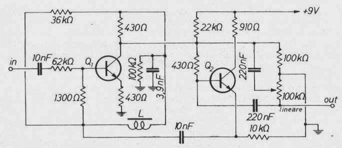 Schema Elettrico Wah Wah : Elettronica facile