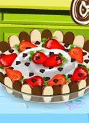 Шоколадный торт-мусс - Онлайн игра для девочек