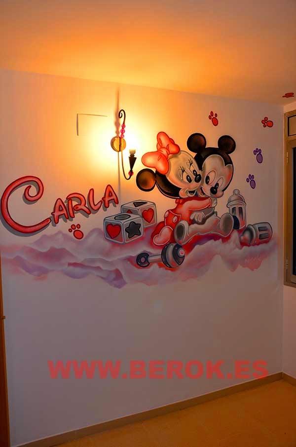 Pintor de murales infantiles Barcelona