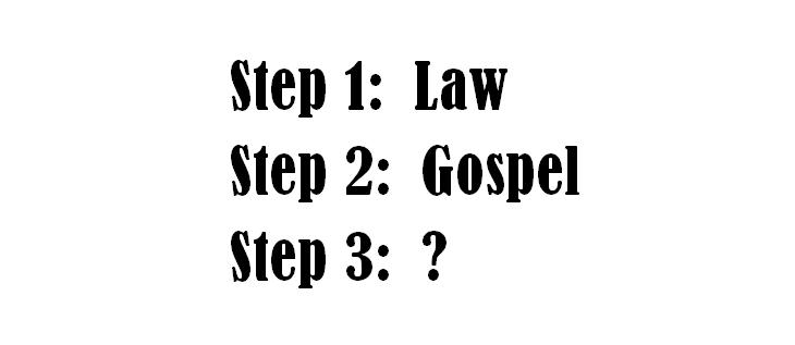 Law, Gospel, What Next?