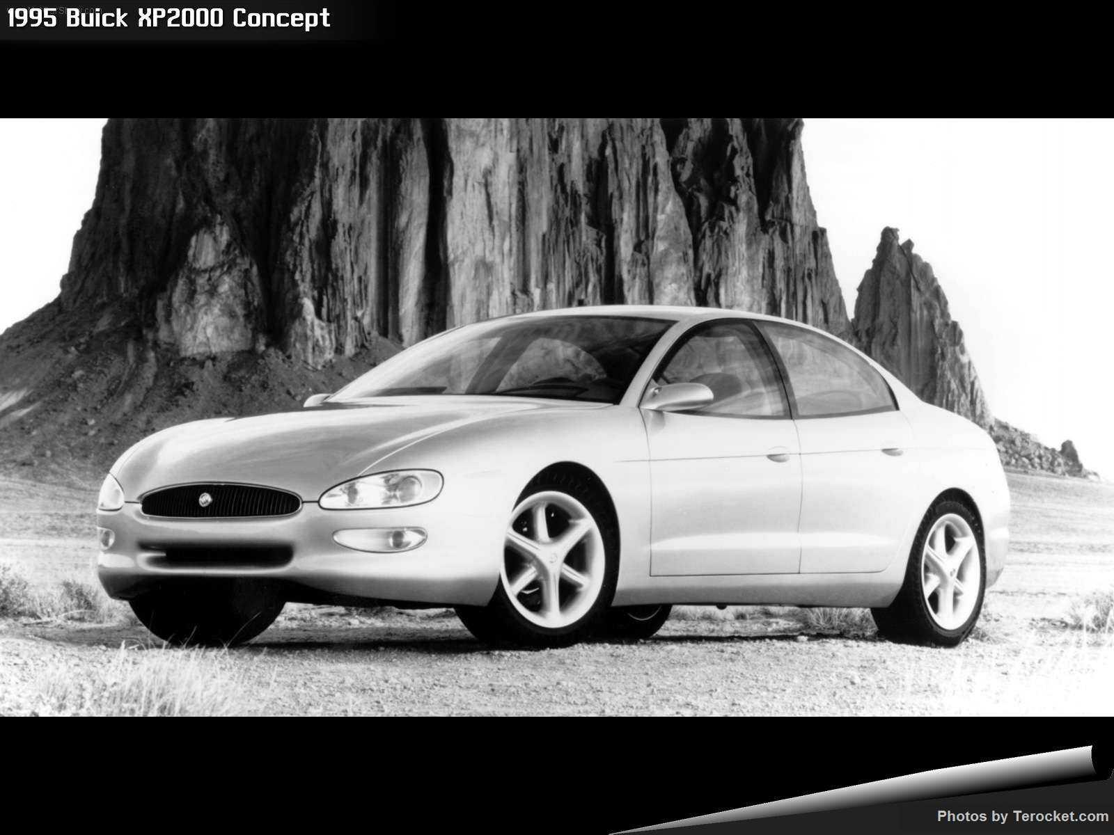 Hình ảnh xe ô tô Buick XP2000 Concept 1995 & nội ngoại thất