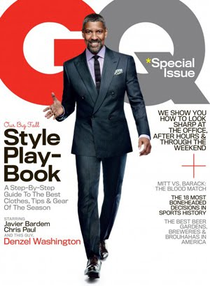 At 57 Denzel Washington Has Still Got It! Click To Find Out More About His Shoot