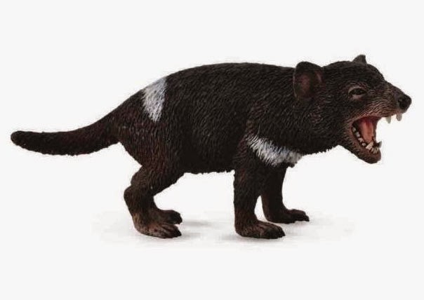Realistic 3-inch Tasmanian Devil Toy or Replica