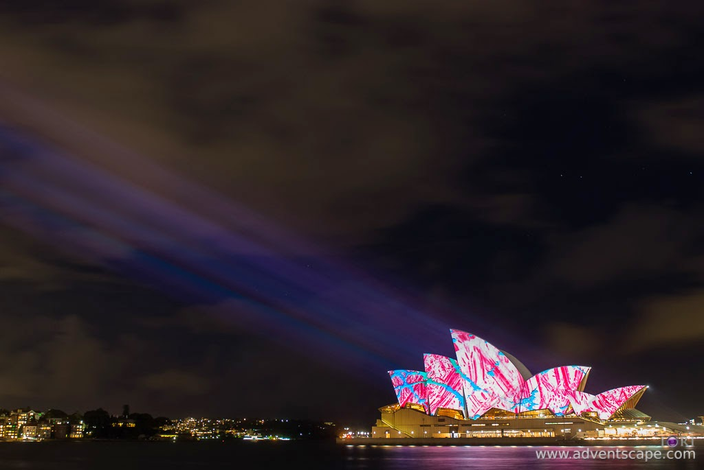 Philip Avellana, Australian Landscape Photographer, Vivid Sydney, Event, CBD, NSW, New South Wales, Australia, lighting, long exposure, Sydney Opera House, 2009