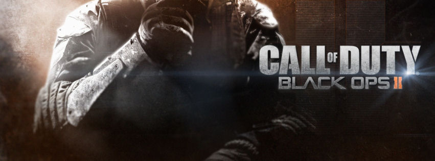 Call of duty black ops 2 2013 facebook cover