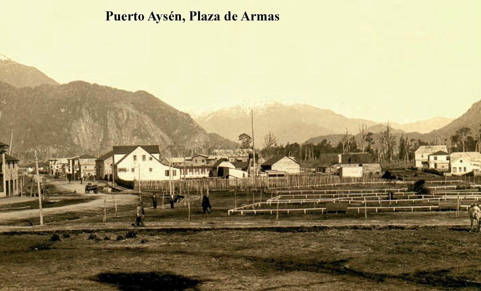 Puerto Aysén y Coyhaique