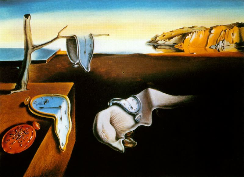surrealismo  los relojes blandos