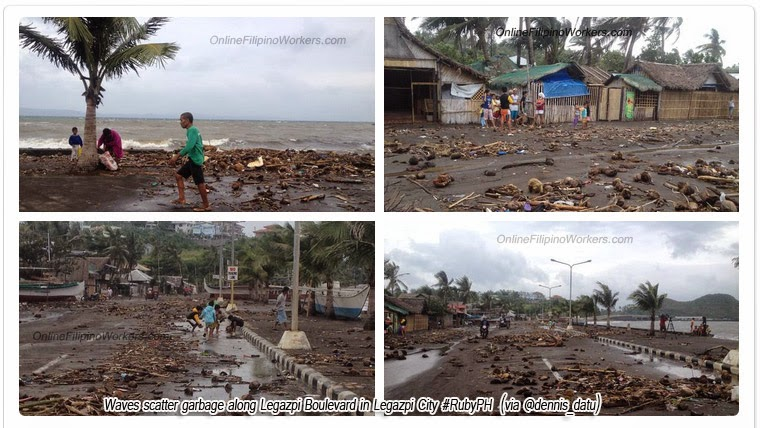 UPDATE: Albay state of calamity now ruby images