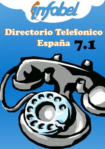 Guía Telefónica de toda España en CD-rom